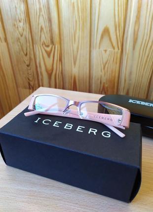 Винтажные очки iceberg оправа