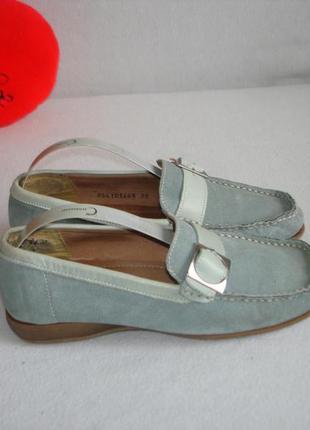Кожаные туфли мокасины лоферы carina   акция:1+1=3