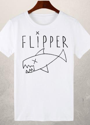 """Футболка """"flipper"""" як у курта кобейна"""