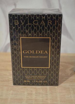 Bulgari bvlgari goldea the roman night