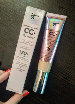 Тональный крем cc it cosmetics illumination fair light