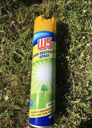 W5 спрей -освіжувач повітря лимон, 400 мл