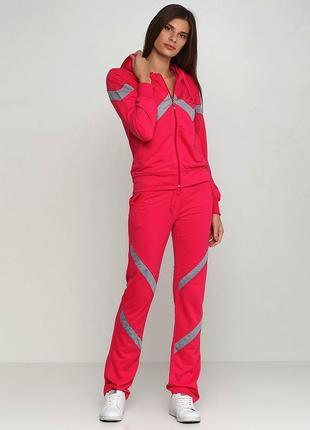 Малиновый демисезонный спортивный костюм godsend однотонный1 фото