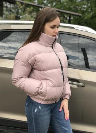 Женская куртка деми + хорошая скидка на слипоны.