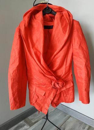 Шикарный брендовые пиджак donna karan оригинал