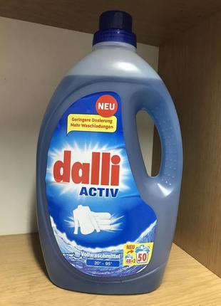 Dalli гель для прання білого одягу, 3,65 мл 50 прань