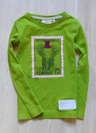 Новый яркий реглан для мальчика. tom tailor. размер 4-5 лет