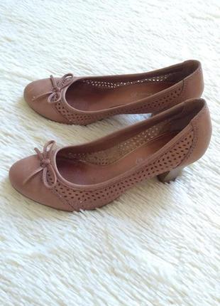 Фирменные туфли из натуральной кожи roberto santi