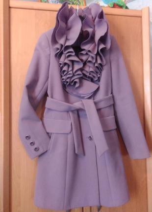 Супер пальто шерсть+ кашемир