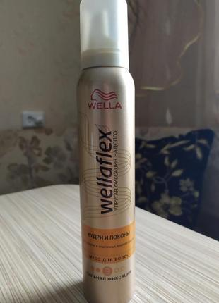 Мус для волосся wellaflex