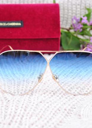 Красивые солнцезащитные очки маска градиентные окуляри