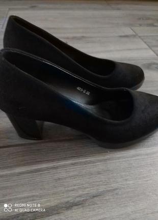 Туфлі замша