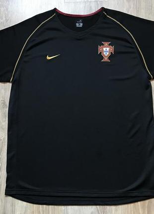 Мужская винтажная футбольная джерси nike portugal jersey world cup 2006