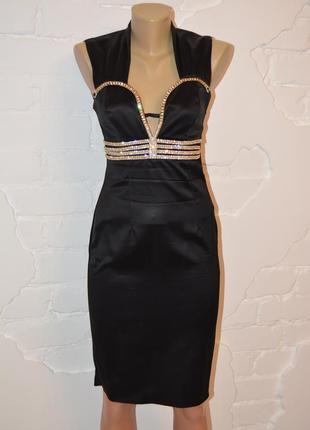 Крутоя платье италия в камнях своровски