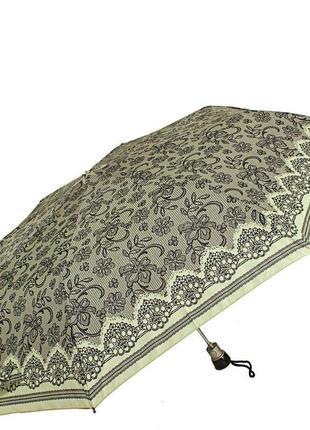 Зонт полуавтомат airton 3615-52 складной женский