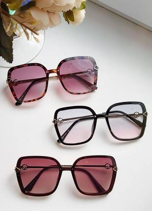 Сонцезахисні окуляри трикутнички