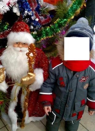 Зимний комбинезон 104-110р. five club на холлофайбере