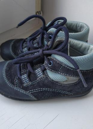 Кожаные туфли superfit 22р. 14.5 см.