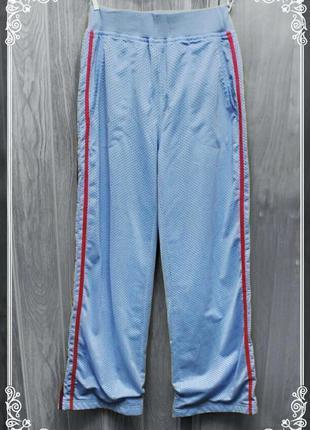 Голубые спортивки,сетка на подкладке,р.xs-m