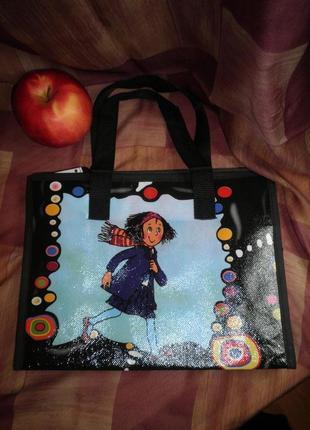 Простейшая сумочка для девочки полиэстр