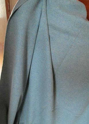 Отрез шикарной пальтовой шерстяной ткани ссср большой 1.50 на 5м
