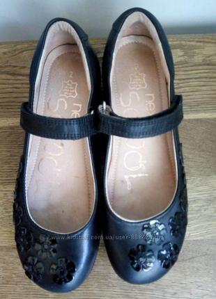 Школьные туфли next р.34,5 стелька 22см