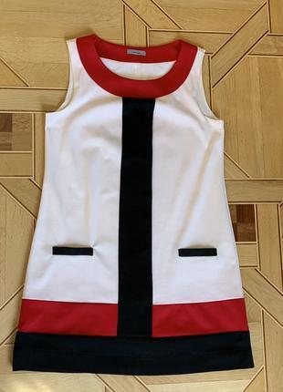 Платье сарафан montego, d44, f46, gb18, f46, полоска