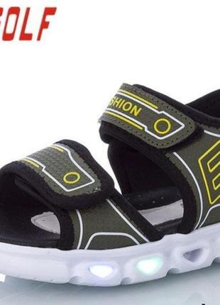 Босоножки сандали на мальчика 24-31 розмер