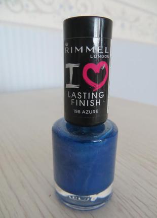 Лак для ногтей i love lasting finish