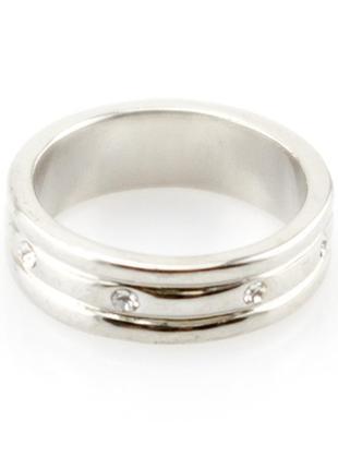 Кольцо silver mirriad - серебристое кольцо изысканное и стильное