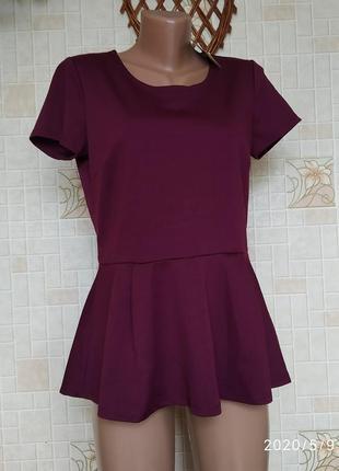 Блуза с воланом 202