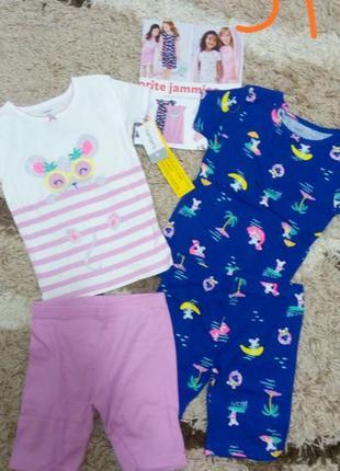 Пижама картерс 5т летняя