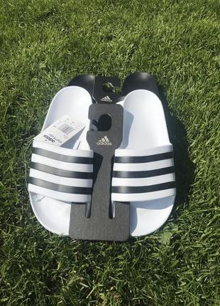 Шлёпанцы adidas adilette aqua white 42 размер