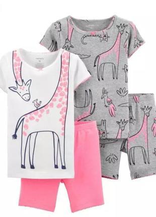 Пижама летняя картерс 5т