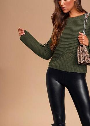 Укороченный теплый свитер marks & spencer