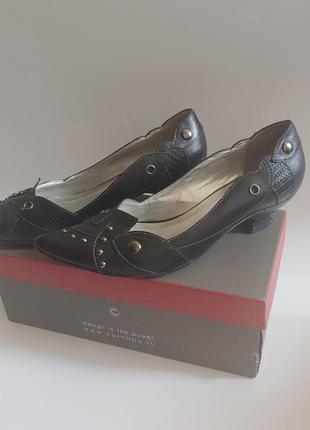 Кожаные туфли carnaby