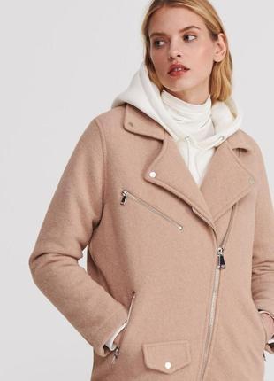 Пальто косуха reserved