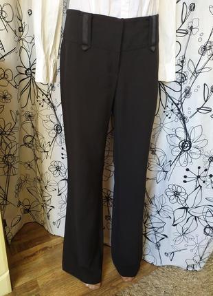 Весенние классические брюки, клёш, низкая посадка