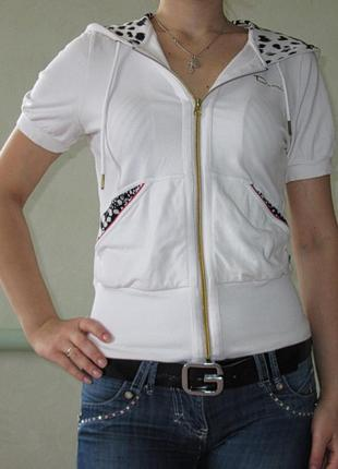 Кофта футболка на змейке
