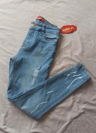 Новые летние джинсы скинни