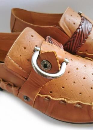 Туфли мужские коричневые р 40 резинки и кнопки