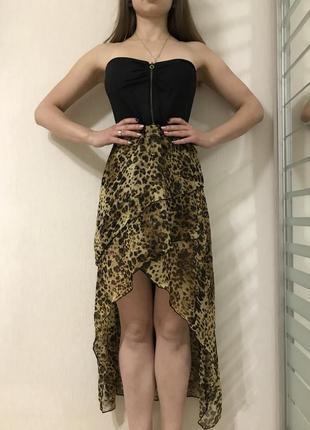 Леопардове плаття платье