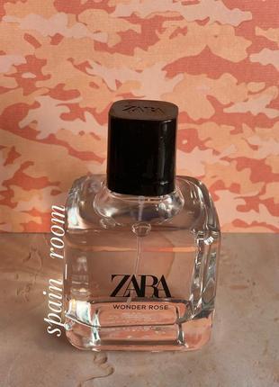Духи zara wonder rose 80мл/парфуми/туалетна вода/туалетная вода2 фото