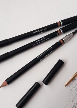 Пудровый карандаш для бровей givenchy mister eyebrow powder pencil