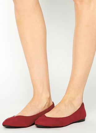 Балетки отличного качества new look на стопу средней полноты и широкую new look