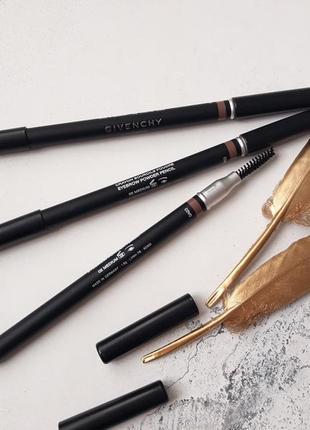 Пудровый карандаш для бровей givenchy mister eyebrow poeder pencil
