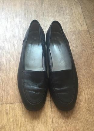 Туфли из натуральной кожи gabor