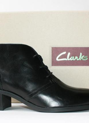 Ботинки clarks оригинал. натуральная кожа. 36-41