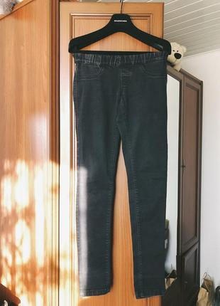 Темно серые джинсы motor