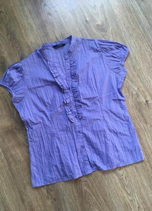 Блуза с жабо f&f